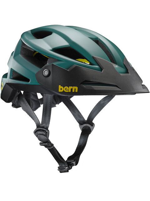 Bern FL-1 XC Type MIPS Helmet with Visor Matte Hunter Green